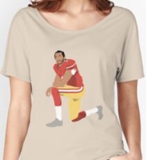 I'll take a knee with Kap Women's Relaxed Fit T-Shirt