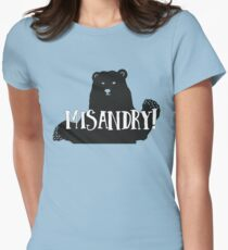 Misandry!  Womens Fitted T-Shirt