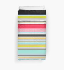 Delicious Rainbow Striped Lines Duvet Cover