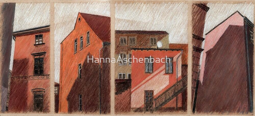 Weimarer Giebel - lautlose Kommunikation by HannaAschenbach