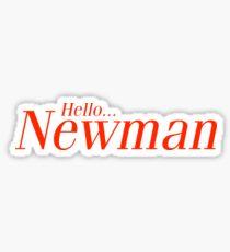 Hello Newman. Seinfeld Sticker