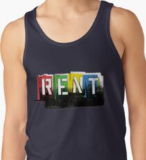 Rent Logo Color Tank Top
