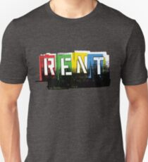 Rent Logo Color Unisex T-Shirt