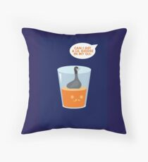CAN I GET A LIL GOOSE IN MY OJ? Throw Pillow