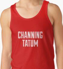 CHANNING TATUM <3 Tank Top