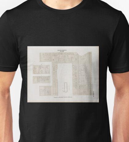 0478 Neues Reich Dynastie XVIII Tempel von Semneh Semna Aeussere Südwand Unisex T-Shirt