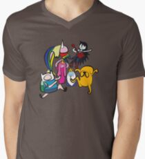 NINJIA CREW Men's V-Neck T-Shirt