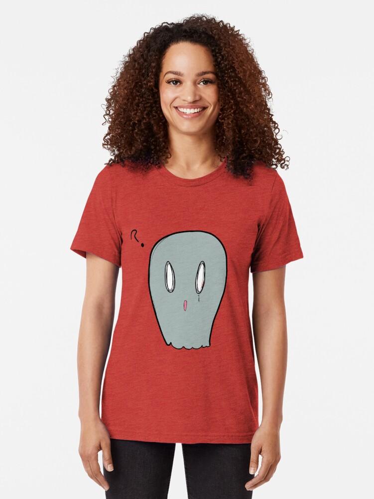 Vista alternativa de Camiseta de tejido mixto Fantasma