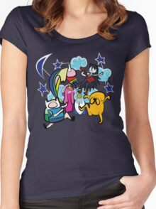 CLOUD CREW Women's Fitted Scoop T-Shirt