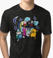 CLOUD CREW Tri-blend T-Shirt