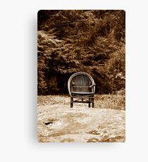 Sandburg's Chair Canvas Print