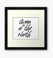 Queen of the North Framed Print