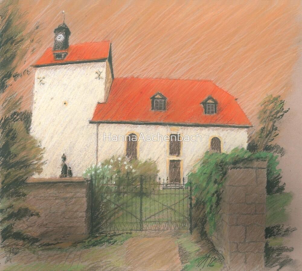 Dorfkirche von Bechstedtstraß by HannaAschenbach