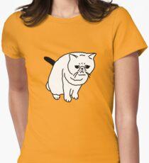 Mr Inspector Cat Women's Fitted T-Shirt