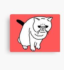 Mr Inspector Cat Canvas Print