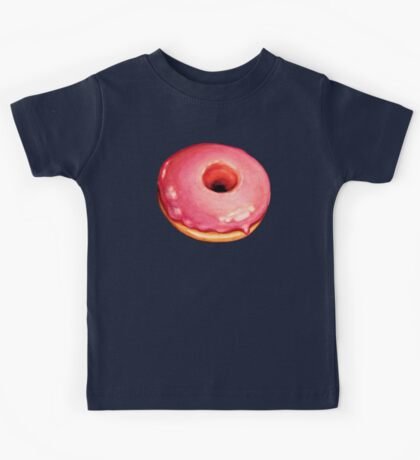 Strawberry Donut Pattern Kids Clothes
