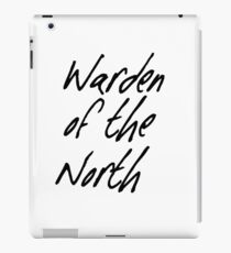 Warden of the North iPad Case/Skin