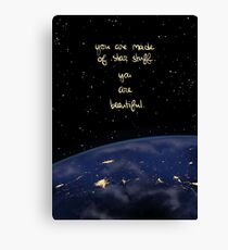 """You Are Made of Star Stuff"" Canvas Print"