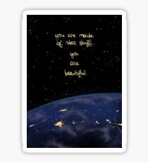 """""""You Are Made of Star Stuff"""" Sticker"""