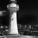 Wollongong Harbour Lighthouse by Les Boucher