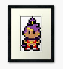 Pixel Shantae Framed Print