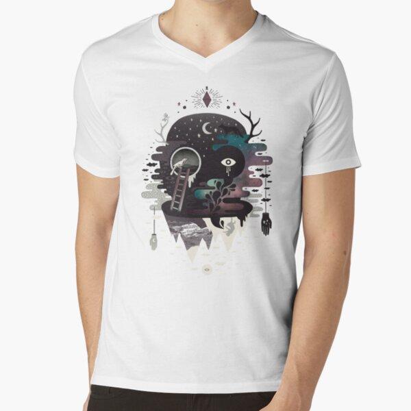 Daemon V-Neck T-Shirt