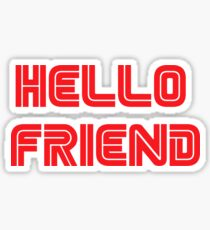 Mr. Robot - Hello friend Sticker