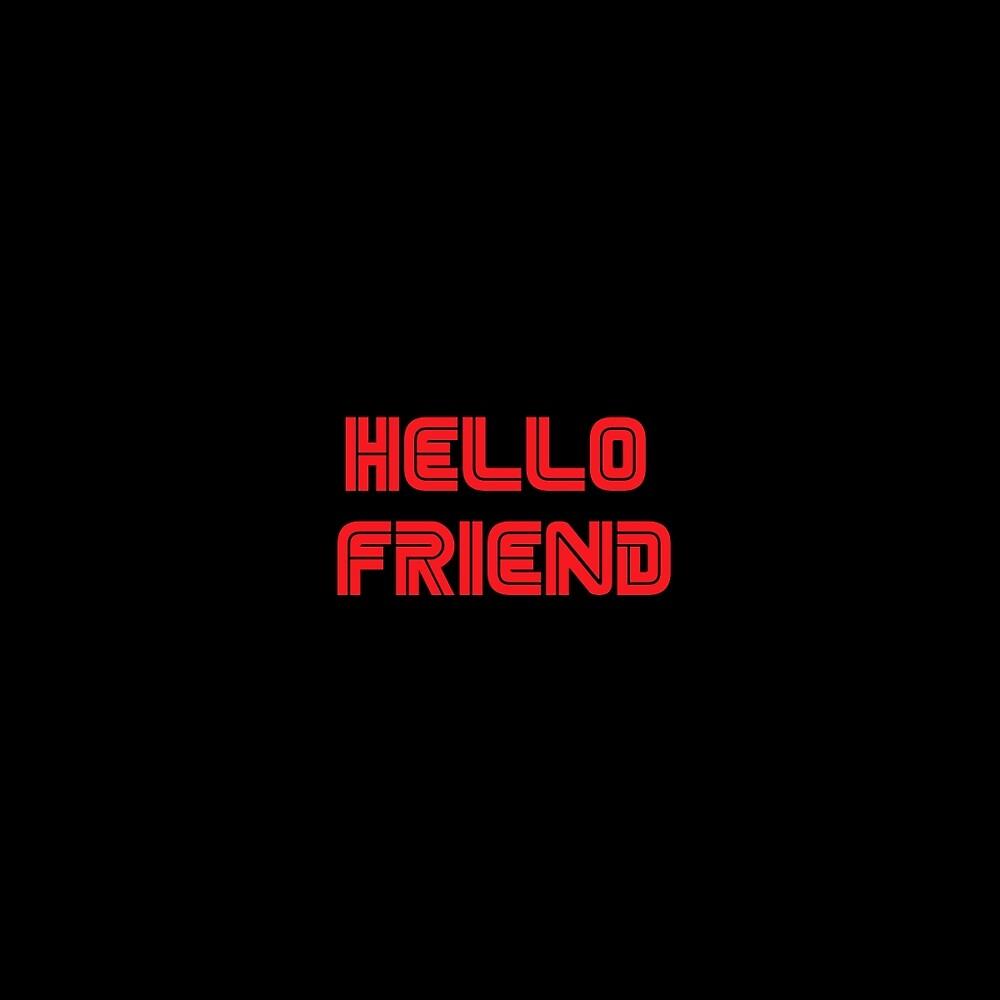 Quot Mr Robot Hello Friend Quot By Spacenigiri Redbubble