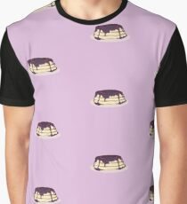 Blueberry Pancakes Graphic T-Shirt