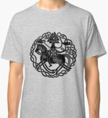 Sleipnir and Odin Classic T-Shirt