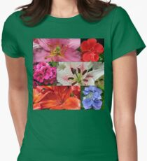 Summer Beauties Floral Collage T-Shirt