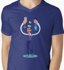 Jimmy the Prosecco Elf Mens V-Neck T-Shirt
