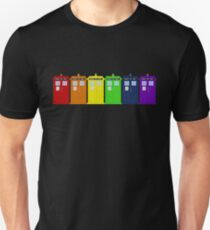 Rainbow Tardis' T-Shirt