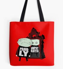 The science of dressing well is the art of knowing what is appropriate for the occasion. Tote Bag