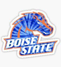Boise State University Sticker Sticker