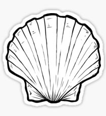Sea shell #1 Sticker