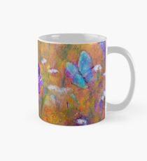 Iris, Wildflowers and Butterfly Classic Mug
