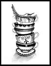 Tea bird by Jenny Wood