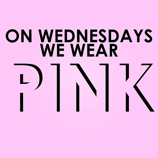 Quot On Wednesdays We Wear Pink Mean Girls Quote T Shirt