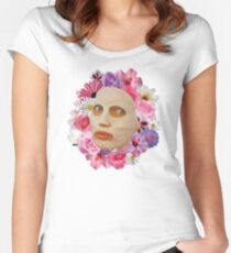 Alyssa Edwards Beauty Mask With Flowers - Rupaul's Drag Race All Stars 2  Women's Fitted Scoop T-Shirt
