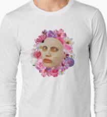 Alyssa Edwards Beauty Mask With Flowers - Rupaul's Drag Race All Stars 2  Long Sleeve T-Shirt