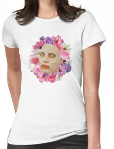 Alyssa Edwards Beauty Mask With Flowers - Rupaul's Drag Race All Stars 2  Womens Fitted T-Shirt