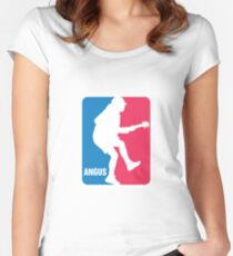 Angus Young Sport Logo Fitted Scoop T-Shirt