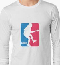 Angus Young Sport Logo Long Sleeve T-Shirt