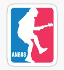 Angus Young Sport Logo Sticker