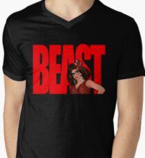 """Alyssa Edwards """"BEAST"""" Men's V-Neck T-Shirt"""
