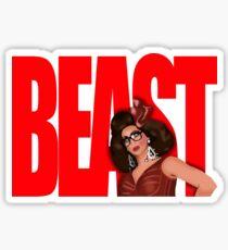"""Alyssa Edwards """"BEAST"""" Sticker"""