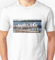 A Gathering Of Gulls  Unisex T-Shirt