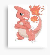 Pokemon-Charmeleon Metal Print
