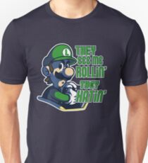 Luigi MK8 - Ridin' Dirty Unisex T-Shirt